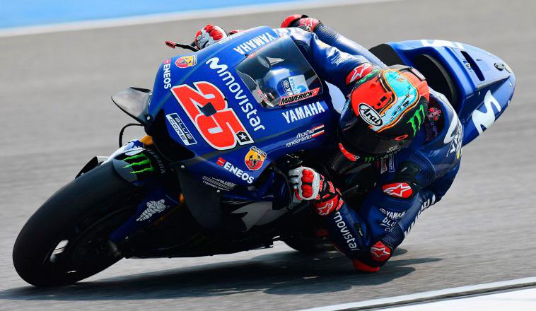 MotoGP: Yamaha es protagonista en los Libres1