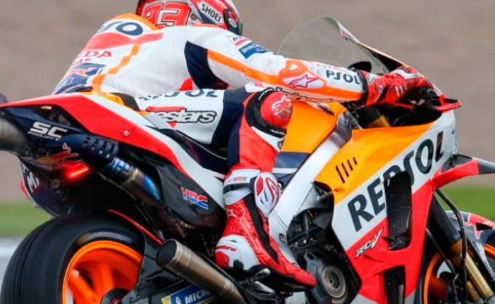 MotoGP: Márquez empieza con el mejor ritmo en Valencia