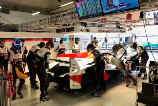WEC: 'Pechito' coloca al Toyota #7 al frente del FP2 en Shanghái