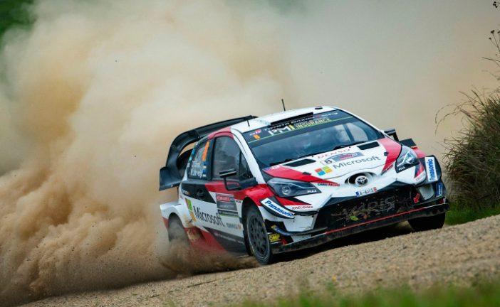WRC: Tänak es líder y busca el título