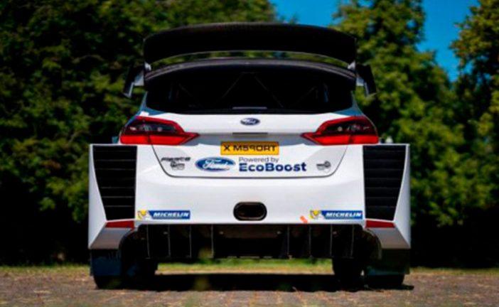 WRC: Se probó el Fiesta RS WRC en los test para Montecarlo