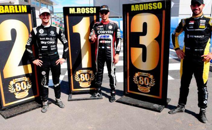 TC: Rossi y una nueva pole