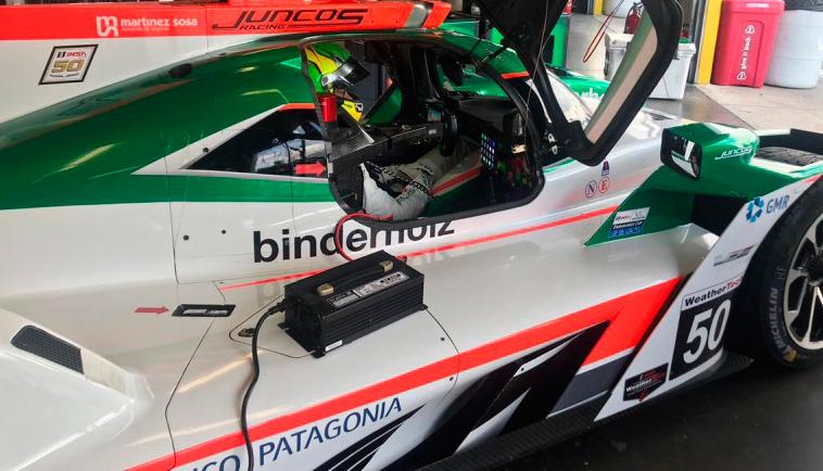 Impresionante lo de Canapino en las 24hs de Daytona