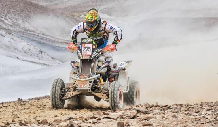 Rally Dakar: Día 4 / Otra buena jornada para los argentinos en Cuatriciclos