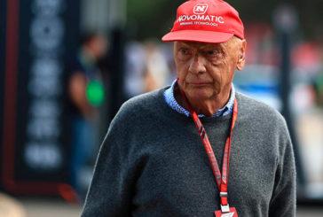 Niki Lauda fué dado de alta y se recupera en su domicilio