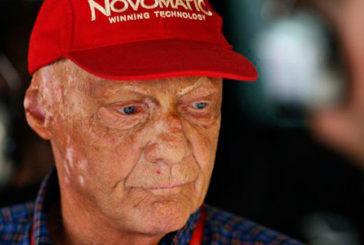 Fórmula 1: Niki Lauda otra vez internado