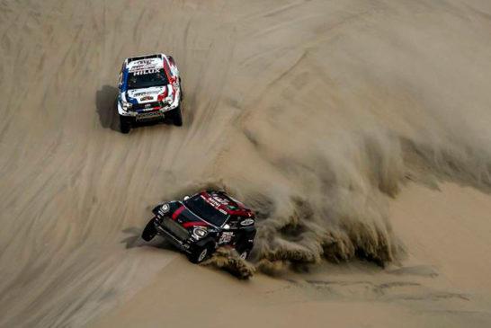 Rally Dakar: Día 9 / Al-Attiyah se queda con la etapa y no deja dudas