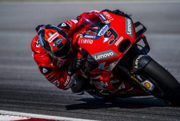 MotoGP: Danilo Petrucci tritura el crono y MotoGP 2019 empieza con póquer de Ducati