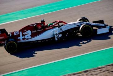 Fórmula 1: Giovinazzi y su Alfa Romeo comenzaron arriba
