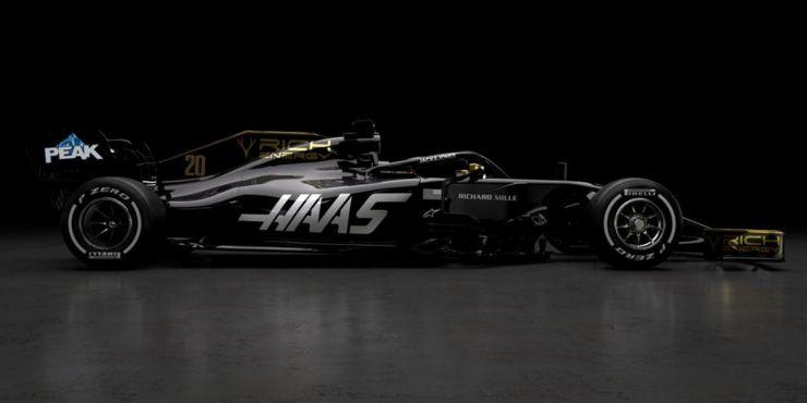 Fórmula 1: Hass presentó el nuevo diseño
