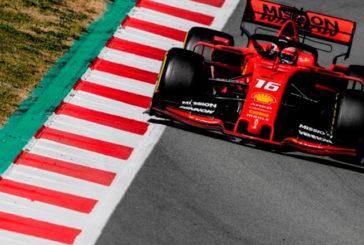 Fórmula 1: Leclerc manda en el séptimo día