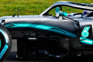 Fórmula 1: Mercedes desveló el W10 2019