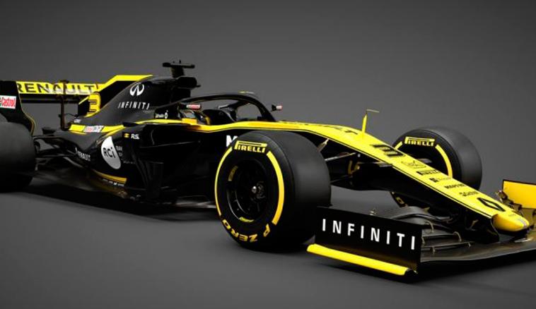 Fórmula 1: Renault presentó el RS19