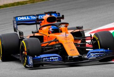 Fórmula 1: Sainz lidera la sesión matutina con récord, Vettel acaba contra las protecciones