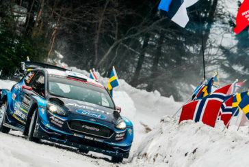 WRC: Suninen se quedó con el Viernes de Suecia