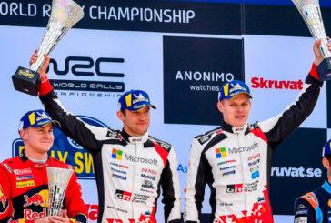 WRC: Tänak se lleva la gloria en Suecia