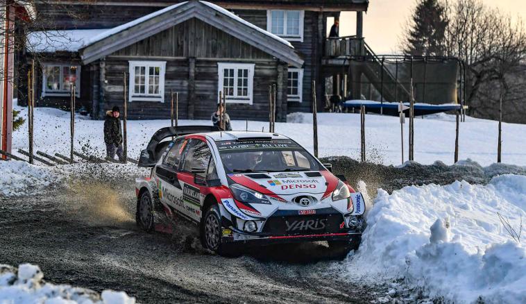 WRC: Tänak toma el control en Suecia