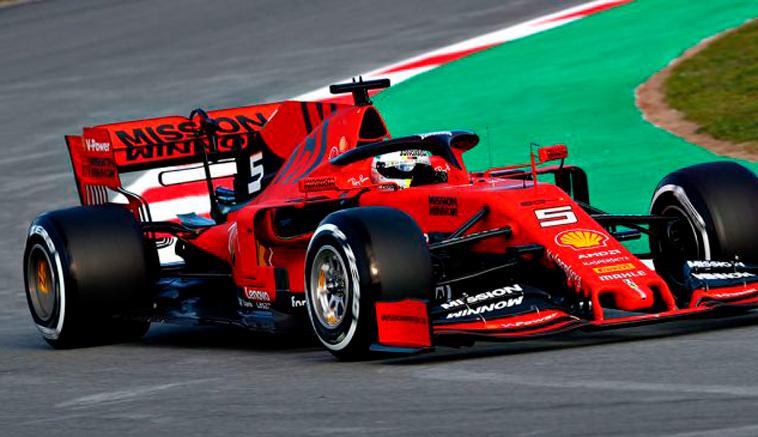Fórmula 1: Vettel comienza al frente en los test matutinos