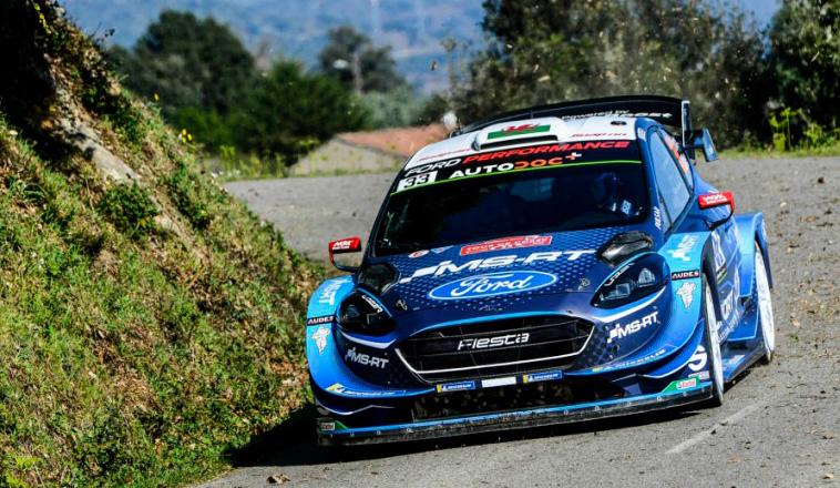 WRC: Evans termina el viernes en la cima