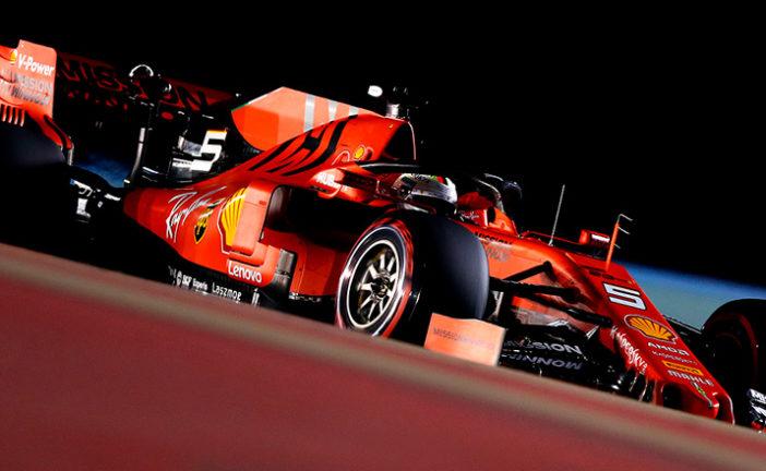 Fórmula 1: Vettel logra el 1-2 de Ferrari