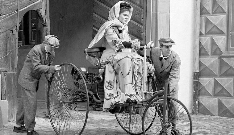 Bertha Benz, la mujer que cambió la historia del automóvil
