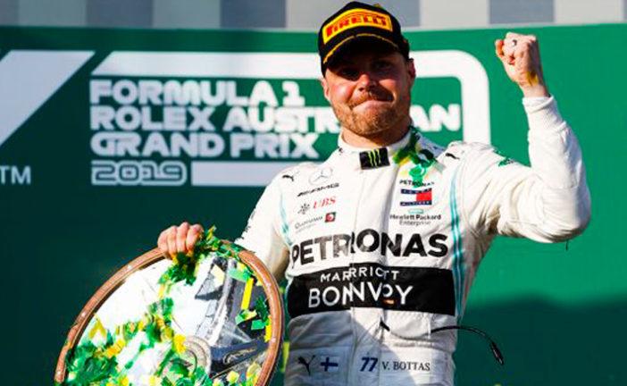 Fórmula : Bottas capitaneó el doblete de Mercedes