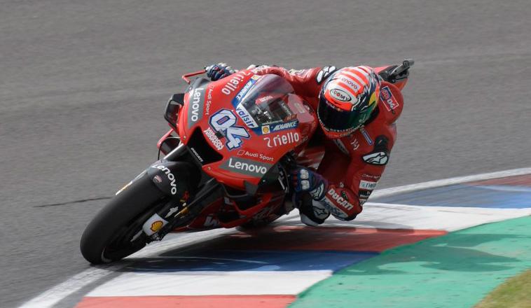 MotoGP: Dovizioso reinó en los 2dos entrenamientos