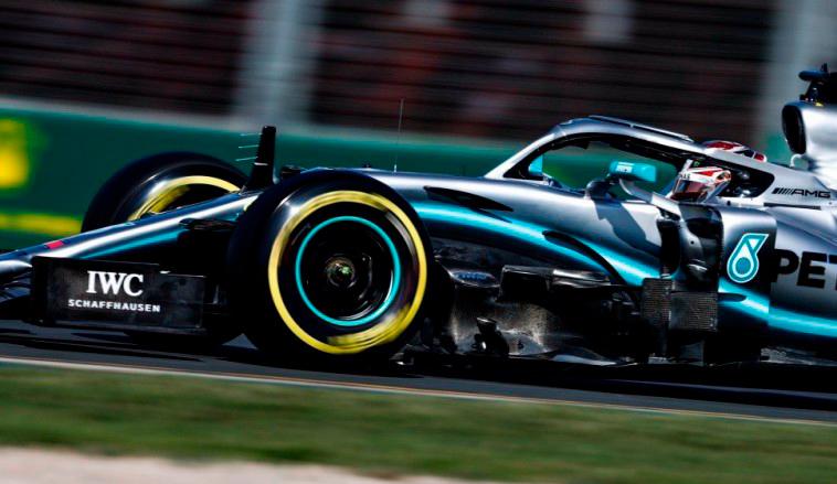 Fórmula 1: Hamilton otra vez al frente en los entrenamientos