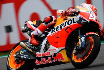 MotoGP: Márquez 'vuela' en la FP3 y Lorenzo se mete en la Q2