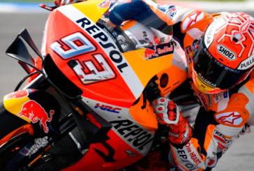 MotoGP: Márquez se lleva la pole con un Top 5 muy ajustado
