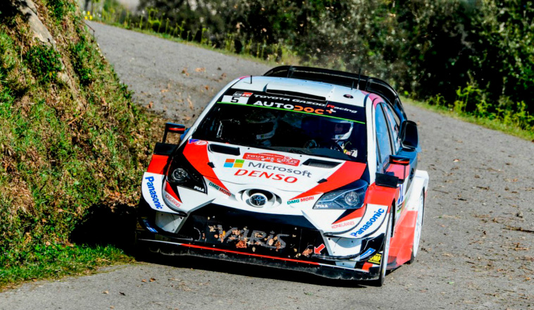 WRC: Meeke lidera el Shakedown de Córcega