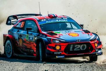 WRC: Mikkelsen es líder tras haberse suspendido el 1er tramo