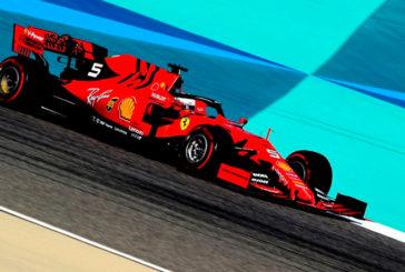 Fórmula 1: Vettel domina la mañana del segundo día de test