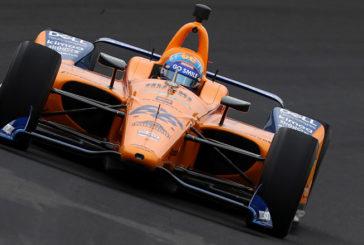 Indy Car: Alonso tuvo un test muy complicado