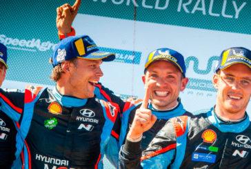 WRC: Neuville gana en Argentina