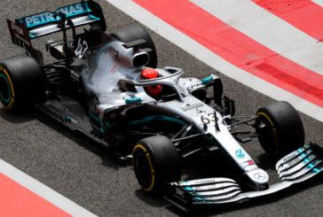 Fórmula 1: Russell, el más rápido en los test