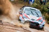 WRC: Tänak lidera el shakedown bajo la fuerte lluvia