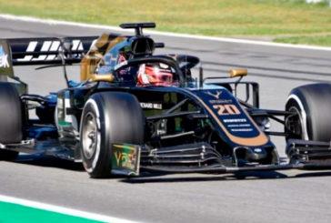 Fórmula 1: Magnussen marca el ritmo en una mañana con tres banderas rojas