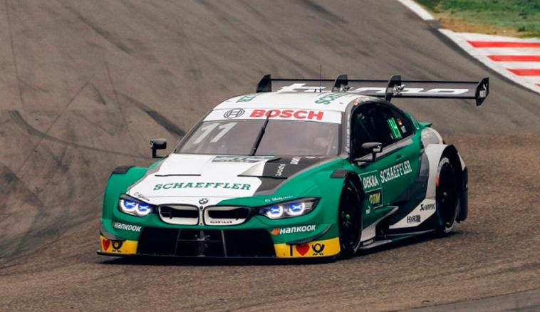 DTM: Marco Wittmann se anota la pole del sábado en Zolder