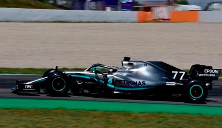 Fórmula 1: Mercedes dominó el primer día de test