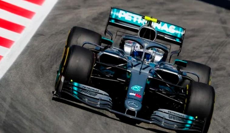 Fórmula 1: Bottas nuevamente el más rápido