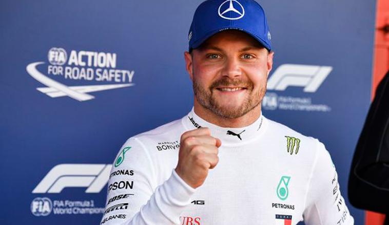 Fórmula 1: Bottas no afloja y logra otra pole
