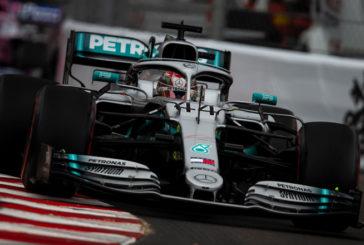 Fórmula 1: Hamilton mete miedo en los Segundos Libres
