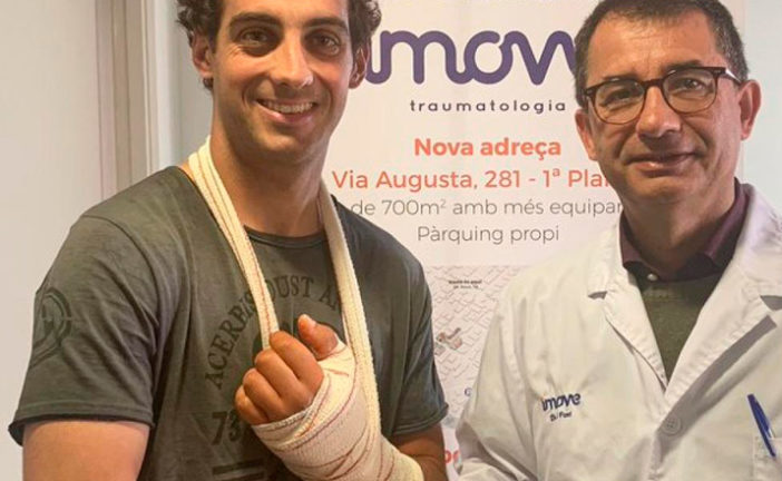 Super Bike: «Tati» Mercado recibe el alta médica y vuelve a competir