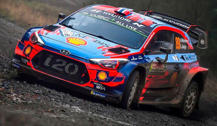 WRC: Mikkelsen se quedó con el Shakedown de Chile