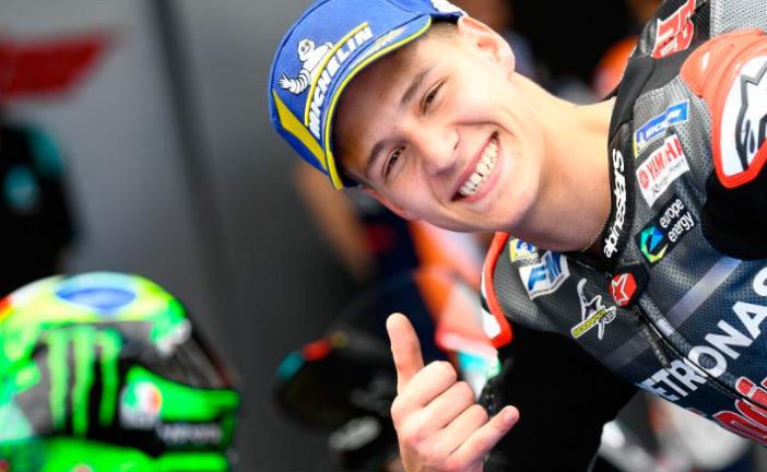 MotoGP: La pole más joven de la historia es para Quartararo