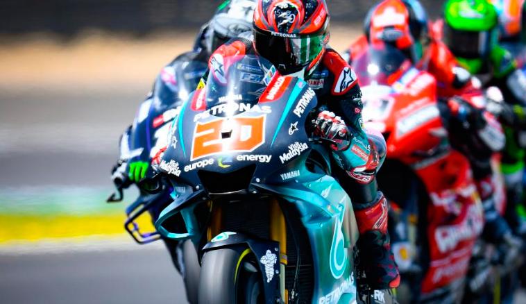 MotoGP: Quartararo se saca la espina con un gran inicio de test