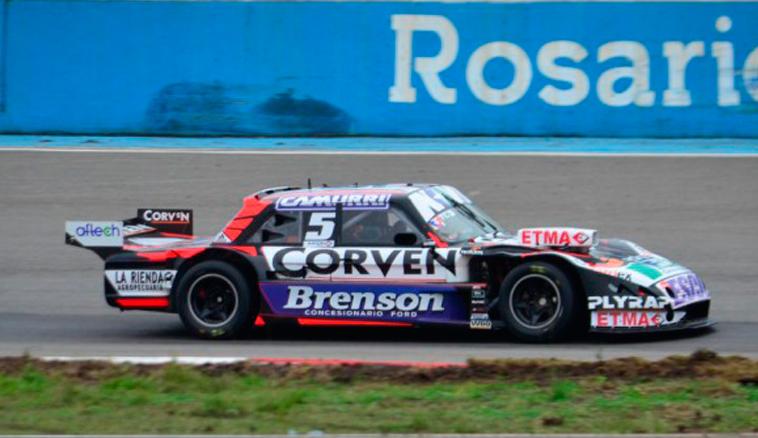TC:  Rossi se quedó con todo en Rosario