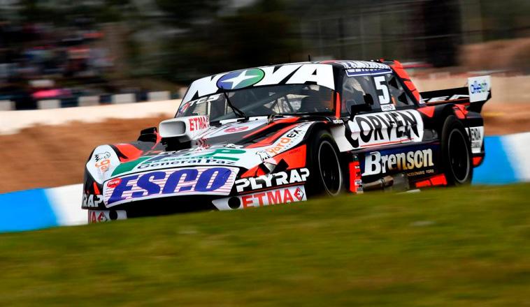 TC: Rossi domina los primeros entrenamientos en Rosario