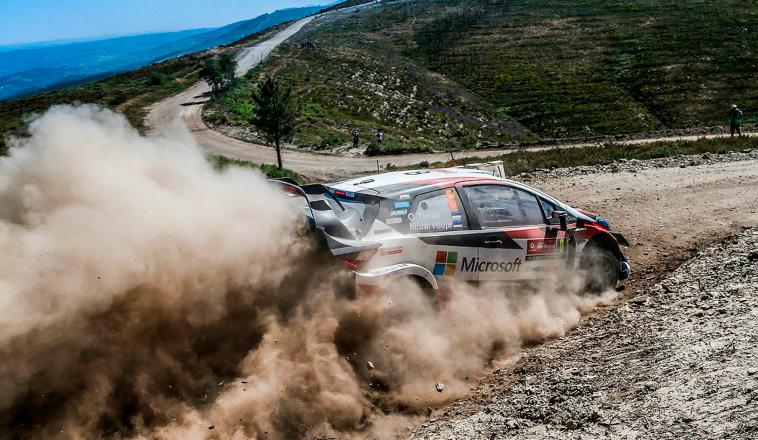 WRC: Tänak encabezó el triplete de Toyota